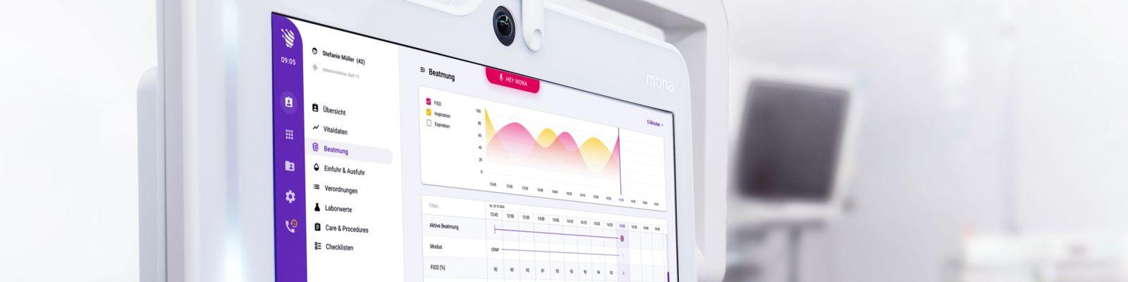 Assistenzsystem Mona - Monitoring am Krankenbett