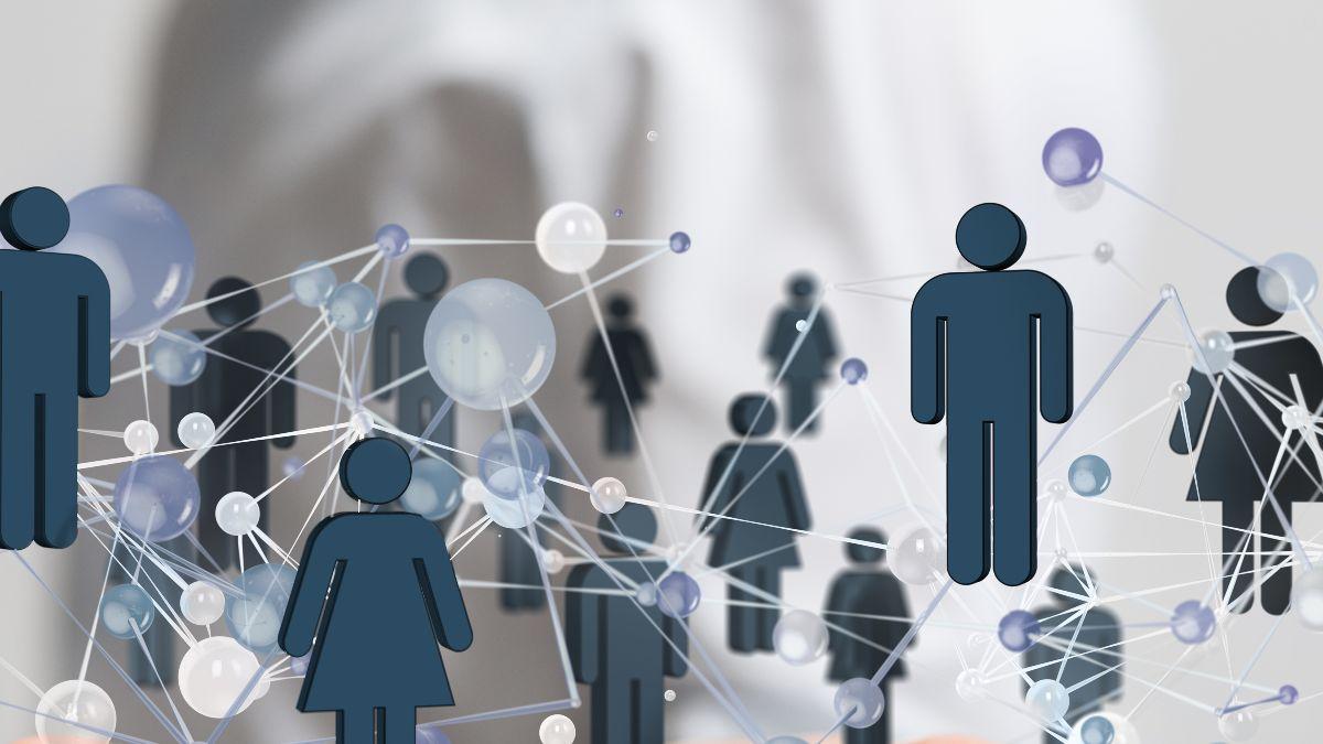 Symbolbild Figuren Netzwerk